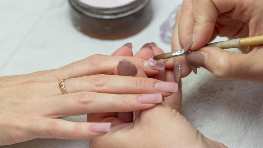 The name is actually a brand name of Creative Nails Design (CND). The two  nail types are very similar with just some little differences. - Thepronails.com