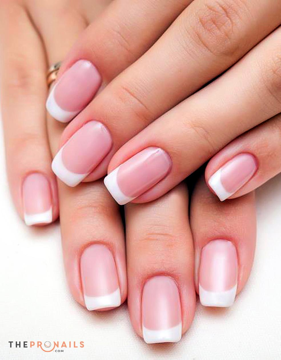 Pink And White Gel Nails - Page 4 - +9000 Summer Nail Designs