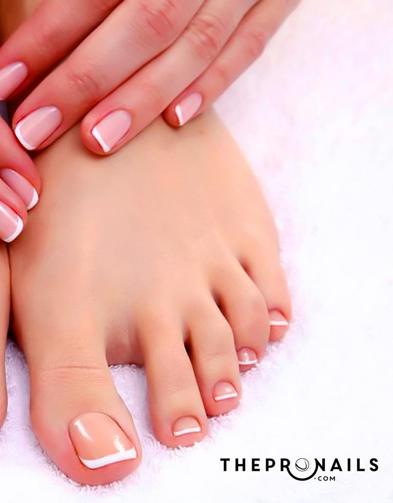 White Gel Nail Polish On Toes - Absolute cycle