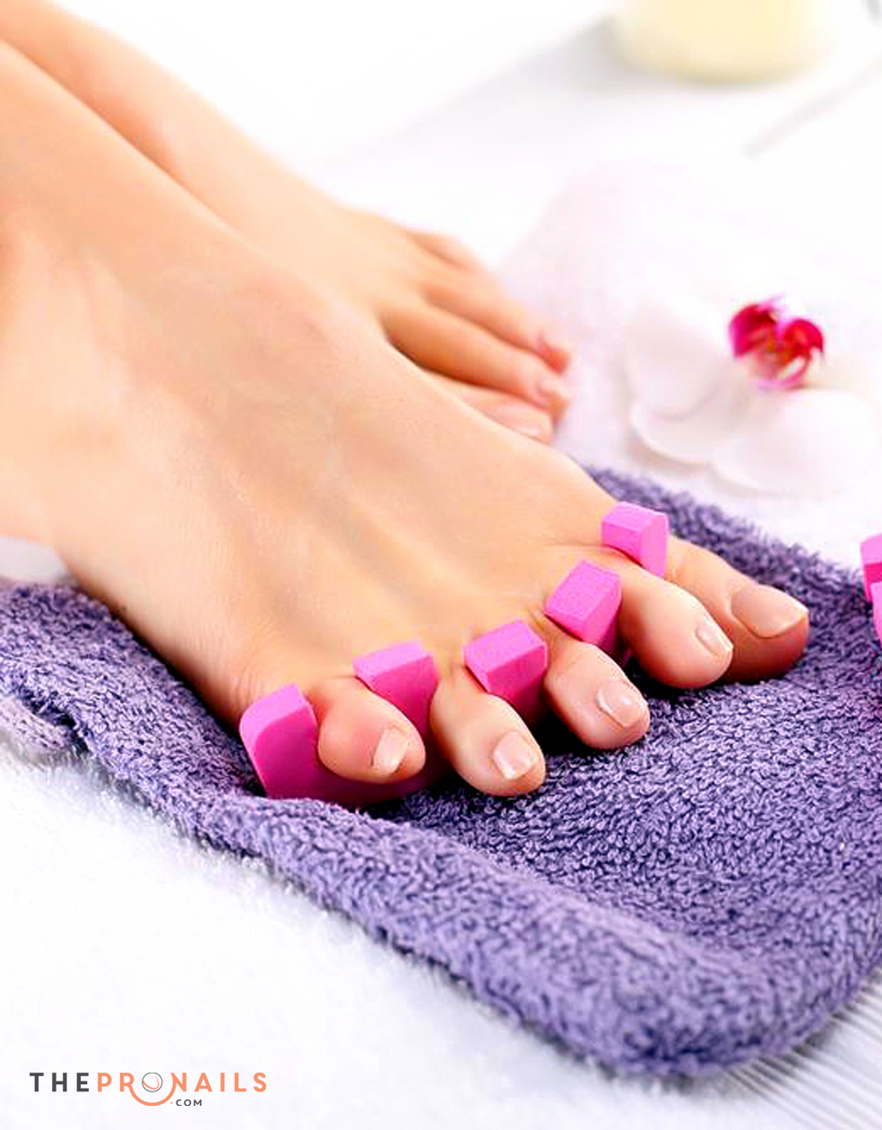 for Acrylic toe nails salon